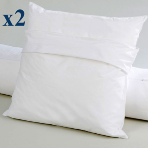 Pack of 2 Ardenay protective pillow covers